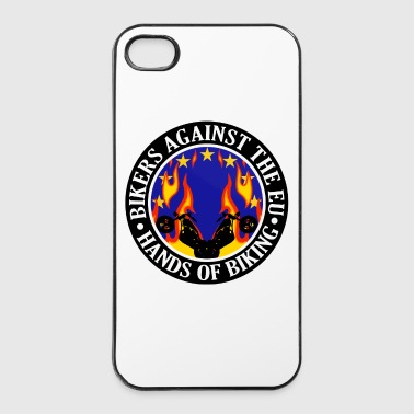 Anti EU Hands Off Biking EU 002 - iPhone 4/4s Hard Case