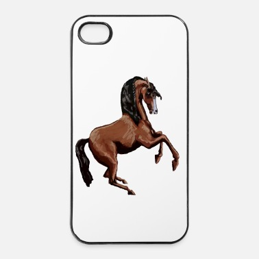 Étalon CHEVAL CABRE CREATION LOUIS RUNEMBERG - Coque rigide iPhone 4/4s
