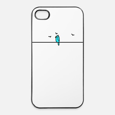 Chill Slaapvogel (b) - iPhone 4/4s hard case