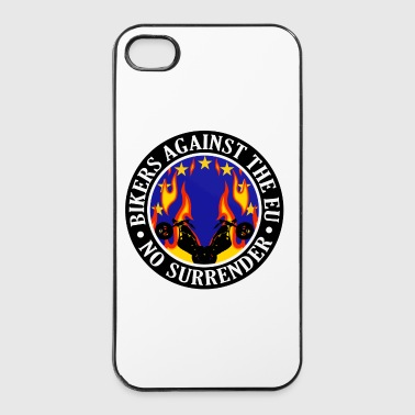 Anti EU Bikers Against The EU 001 - iPhone 4/4s Hard Case