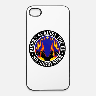 Eu Anti EU Bikers Against The EU 001 - iPhone 4/4s Hard Case