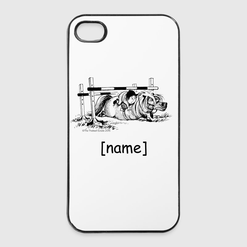 PonyFall Thelwell Cartoon - iPhone 4/4s Hard Case
