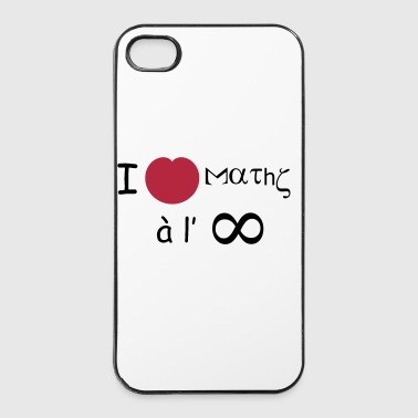 i_love_maths_infini - Coque rigide iPhone 4/4s
