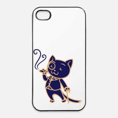 Sir Sir Cat - Coque rigide iPhone 4/4s
