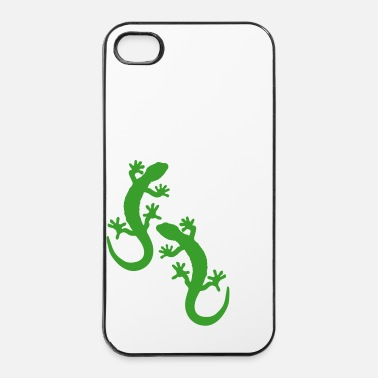 Reptile Deux lézards - Coque rigide iPhone 4/4s