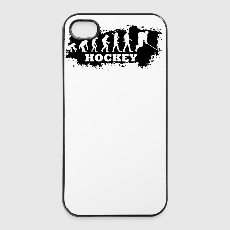 Evolution of Eishockey - iPhone 4/4s Hard Case