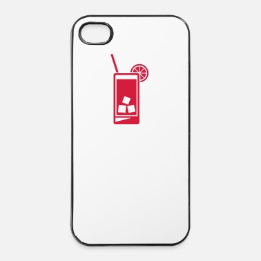 Plage Grand verre - Coque rigide iPhone 4/4s