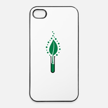 Blad Reageerbuis blad - iPhone 4/4s hard case