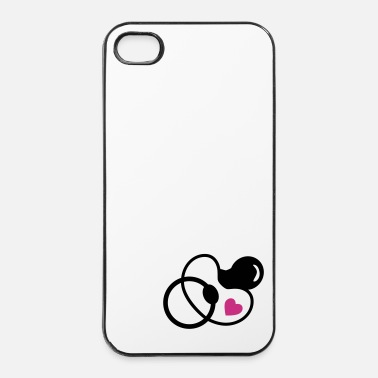 Zwangere baby - fopspeen - iPhone 4/4s hard case
