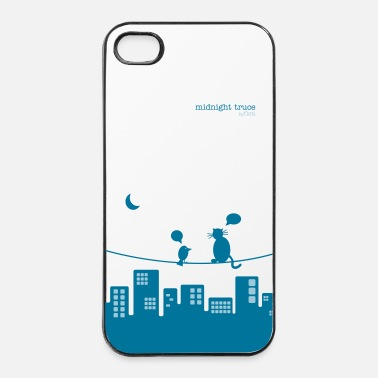 Moon midnight truce - iPhone 4 & 4s Case