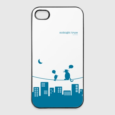 midnight truce - iPhone 4/4s Hard Case