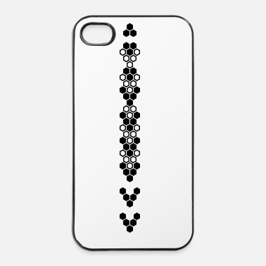 Hexagon honeycomb - iPhone 4 & 4s Case