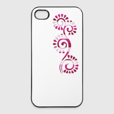 schnörkel - iPhone 4/4s Hard Case