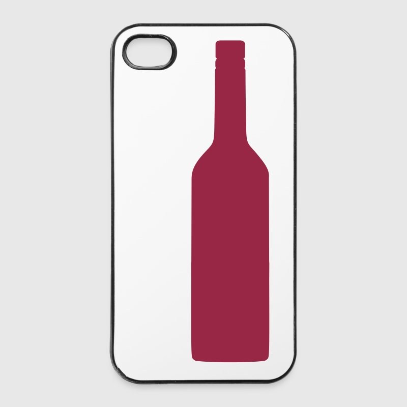 Weinflasche - iPhone 4/4s Hard Case