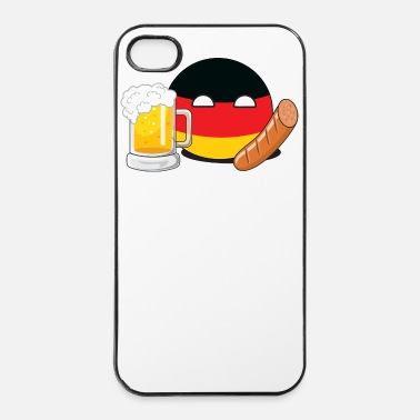 Germania GermanyBall - Custodia rigida per iPhone 4/4s