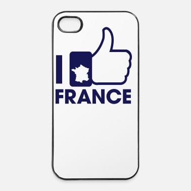 Coq I Like France - Coque rigide iPhone 4/4s