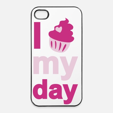 Cupcake i cupcake my day - iPhone 4 & 4s Hülle