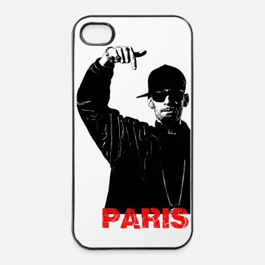 Hop Rappeur hip hop Paris - Coque rigide iPhone 4/4s