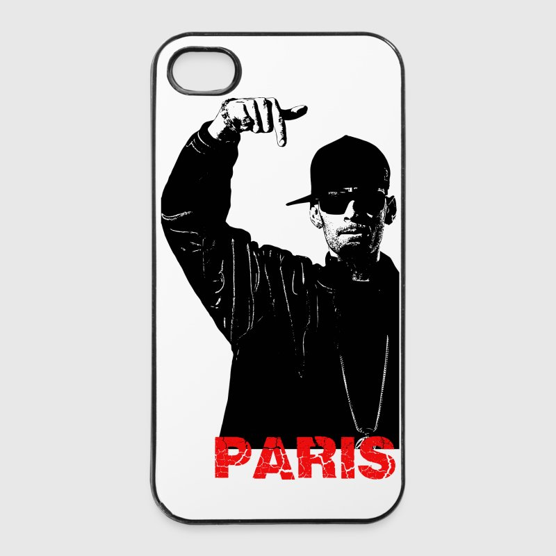 Rappeur hip hop Paris - Coque rigide iPhone 4/4s