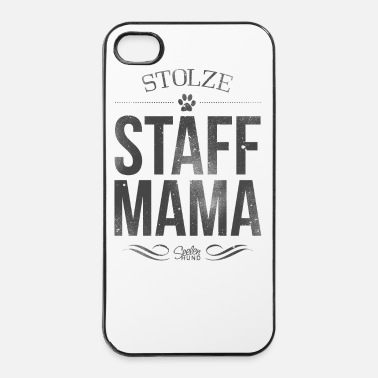 Staffordshire Stolze Staffordshire-Mama - iPhone 4/4s Hard Case