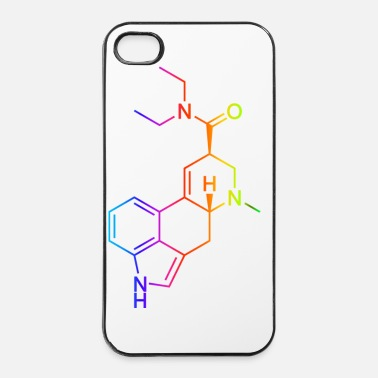 Molecule LSD Molecule Colored - iPhone 4/4s Hard Case