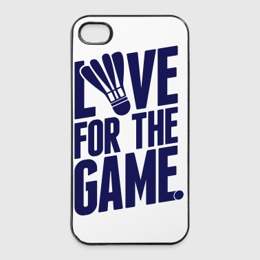badminton - love for the game - Coque rigide iPhone 4/4s