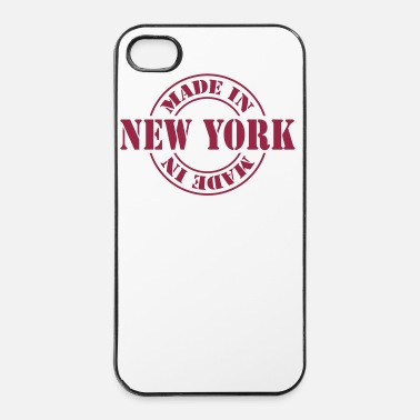Tampon made in new york m1k2 - Coque rigide iPhone 4/4s