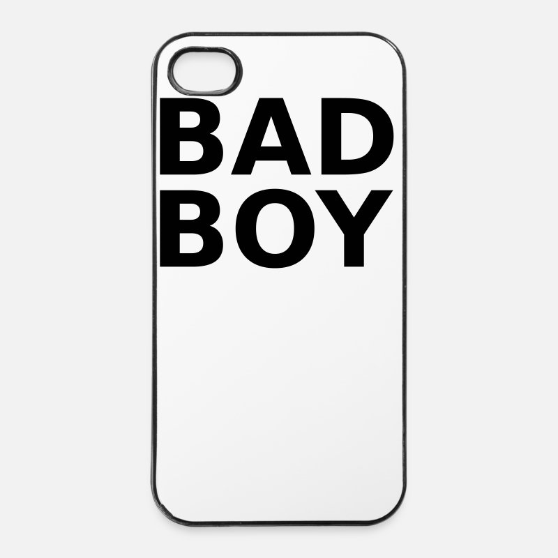 Bad Boy iPhone Cases - Bad Boy - iPhone 4 Case white/black