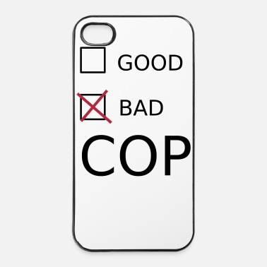 Cop Bad Cop - Twarde etui na iPhone 4/4s