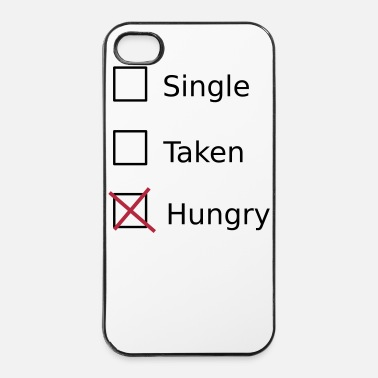 Taart Single Taken Hungry - iPhone 4/4s hard case