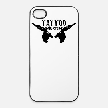 Tatoo Tattoo Addicted  1c - Coque rigide iPhone 4/4s