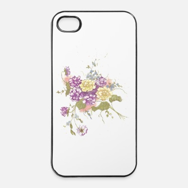 Rose Fleur fleur - Coque rigide iPhone 4/4s