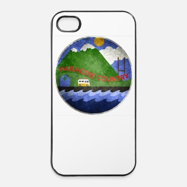 Rugby Paradis Basque rugby et surf - Coque rigide iPhone 4/4s