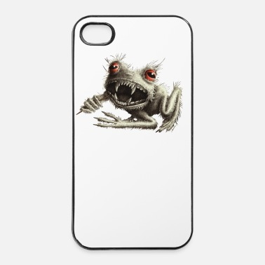 Lune Grenouille garou - Coque rigide iPhone 4/4s
