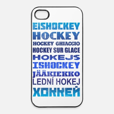 Russian Ice Hockey Languages - iPhone 4 & 4s Case