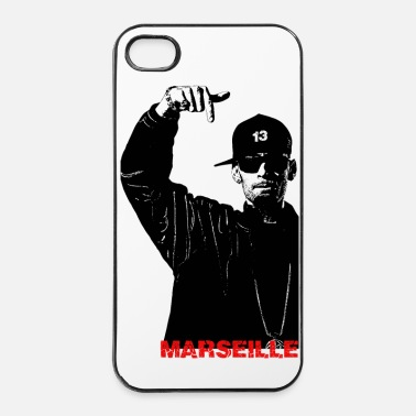 Alpes Rappeur hip hop Marseille - Coque rigide iPhone 4/4s