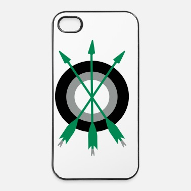 Flèche arrow trinity archery by patjila - Coque rigide iPhone 4/4s