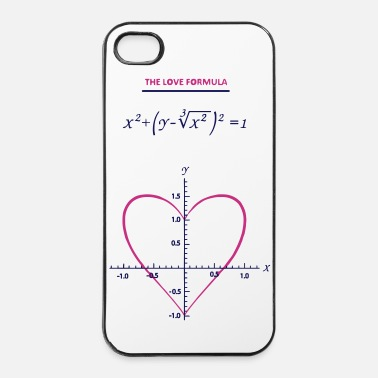 Romantique the_love_formula - Coque rigide iPhone 4/4s