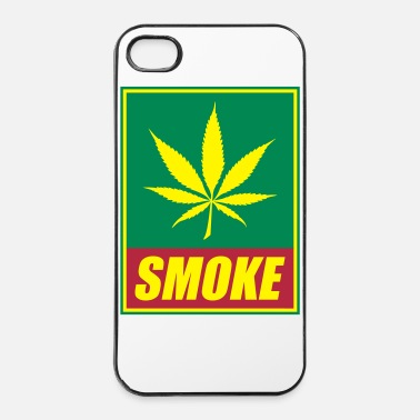 Relax Smoke 3 couleurs peronnalisables - Coque rigide iPhone 4/4s