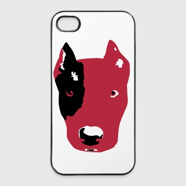 stafford terrier - iPhone 4/4s hard case