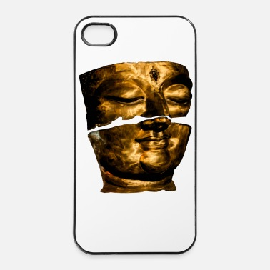 Thaïlande Bouddha Black & White 2 - Coque rigide iPhone 4/4s
