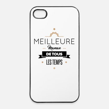 Maman MEILLEURE MAMAN - Coque rigide iPhone 4/4s