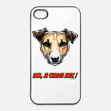 Jack Le Jack Russell, Moi Je Chasse Avec ! - Coque rigide iPhone 4/4s