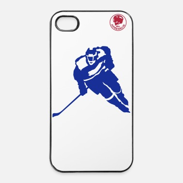 Hockey Mr. Adrenalin Hockey - Custodia rigida per iPhone 4/4s