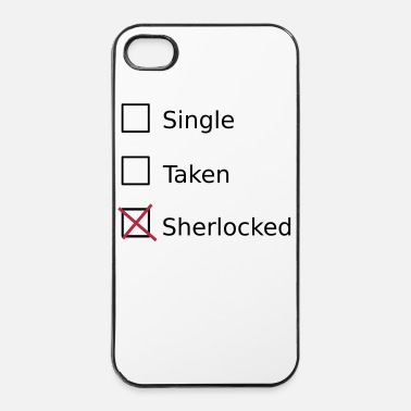 Take Single Taken Sherlocked - iPhone 4/4s hard case