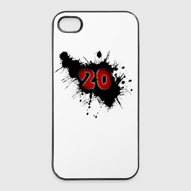 Date of birth 20 years - iPhone 4/4s Hard Case