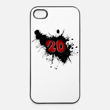 Happy Birthday Date de naissance 20 ans - Coque rigide iPhone 4/4s