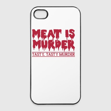Meat is murder - iPhone 4/4s Hard Case