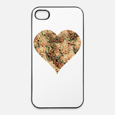 Skateboard Weedheart - Coque rigide iPhone 4/4s