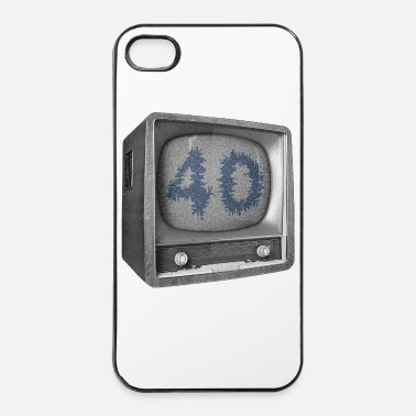 Tv 40 jaar verjaardag - iPhone 4/4s hard case